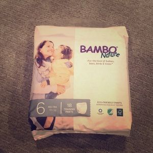BAMBO Nature Training Pants Size 6 (40+ lbs)